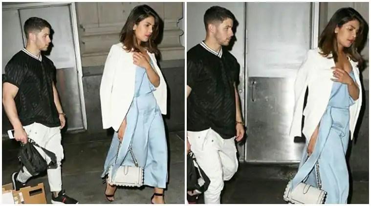 Priyanka Chopra, Nick Jonas date night photos