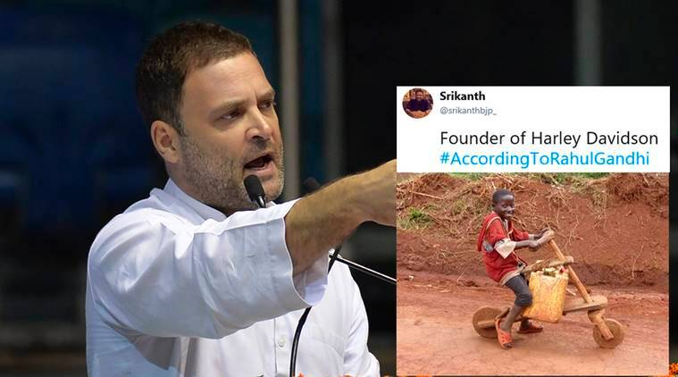 Rahul Gandhi says, 'Coca-Cola was started by a person who sold shikanji', Tweeple can't stop countering with memes