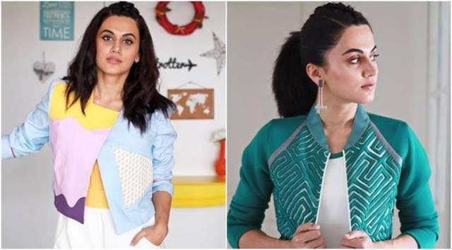 Nitishastra promotions: Taapsee Pannu channels her summer style with a sporty twist
