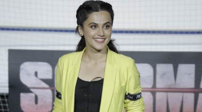 Its unfortunate that no sport in India is as celebrated as cricket: Soorma actor Taapsee Pannu