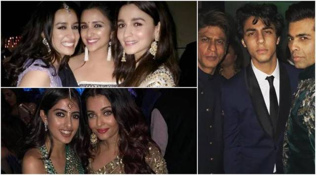 Inside Akash Ambani engagement bash: Karan Johar, Shah Rukh Khan, Alia Bhatt and Ranbir Kapoors selfie game is on point