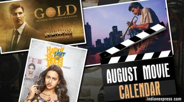 Bollywood movies in August: Fanney Khan, Karwaan, Gold andothers