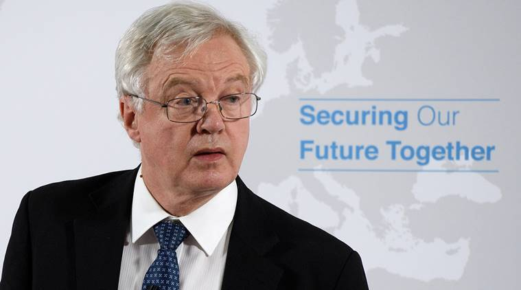 David Davis, Britain, Theresa May, Brexit