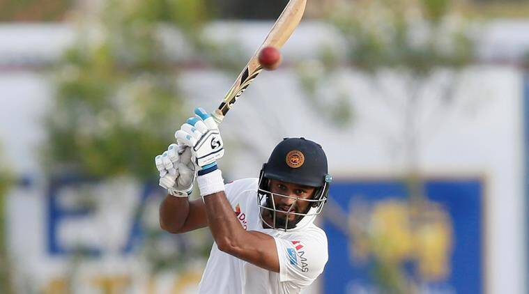 Sri Lanka vs South Africa, SL vs SA, Dimuth Karunaratne, Karunaratne hundred, sports news, cricket, Indian Express