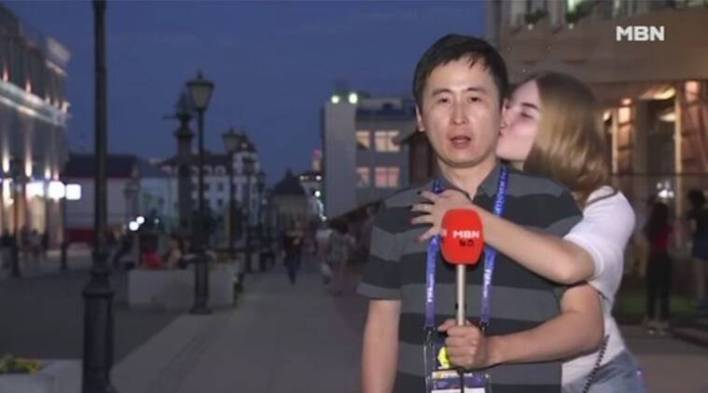 FIFA 2018: Korean male reporter kissed by Russian girls; sparks sexual harassment debate