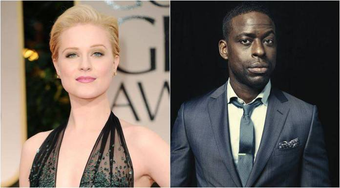 Frozen 2 casts evan rachel wood and sterling k brown