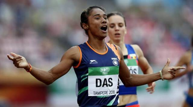 Watch: 18-year-old Hima Dass incredible burst to win 400 m final at World U20 Championships
