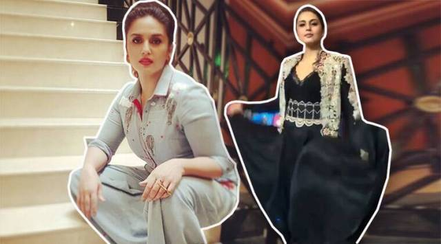 Huma Qureshi in denim jumpsuit or black gown: Which one is yourfavourite?