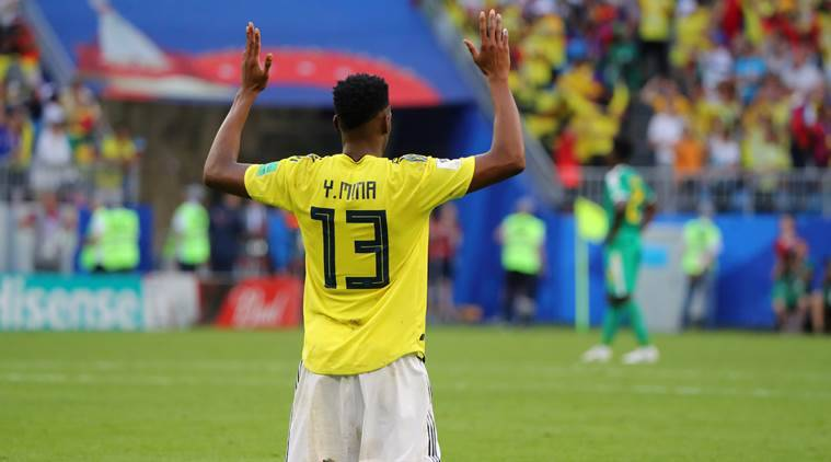 FIFA World Cup 2018: Colombia's once shy Yerry Mina is now their goldenboy