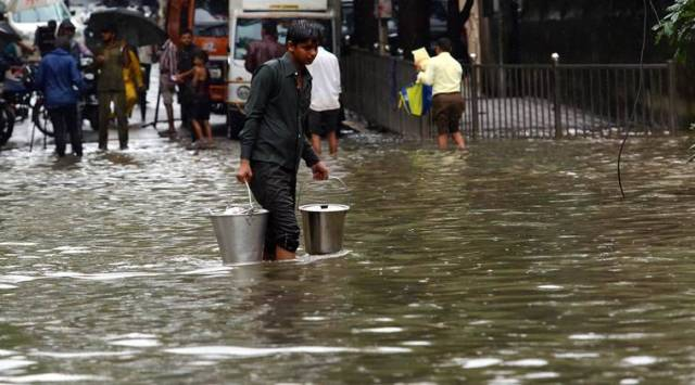 Mumbai rains HIGHLIGHTS: Very heavy rains expected, train services hit