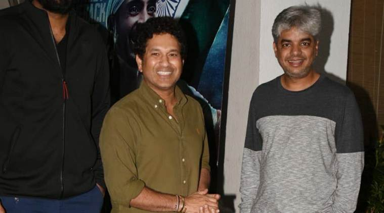 Soorma screening: Sachin Tendulkar and family watch Diljit Dosanjh movie