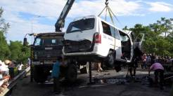 Image result for Groom, 12 guests killed as minibus crashes in Vietnam