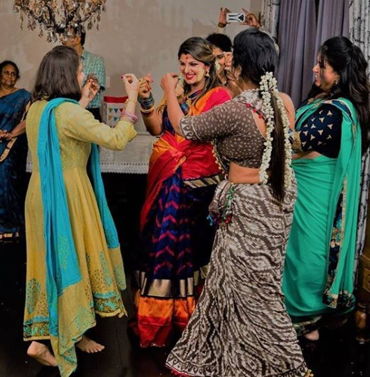 Rambha Dances Away At Baby Shower See The Adorable Photos Tv News Guide