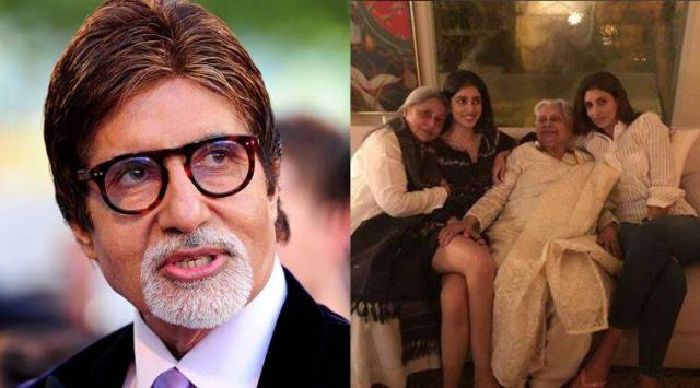 Amitabh Bachchan shares an endearing photo celebrating the women in his life