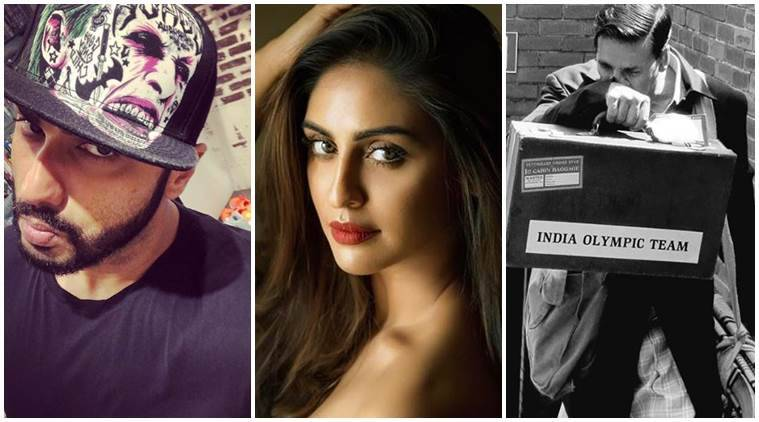 Have you seen these photos of Arjun Kapoor, Krystle DSouza and Akshay Kumar?