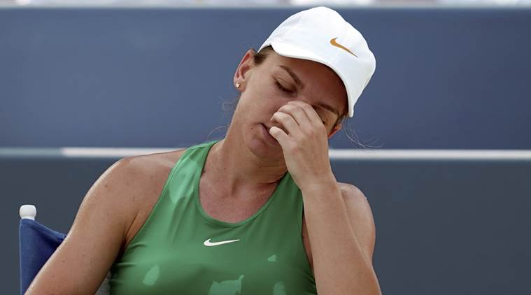 Simona Halep withdraws from final US Open tune-up with Achilles injury