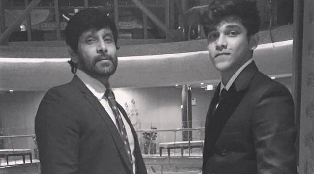 Vikram son Dhruv crashes car in Chennai, booked for hit-and-run