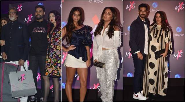Amitabh Bachchan gushes with pride as Shweta Bachchan launches her fashion label