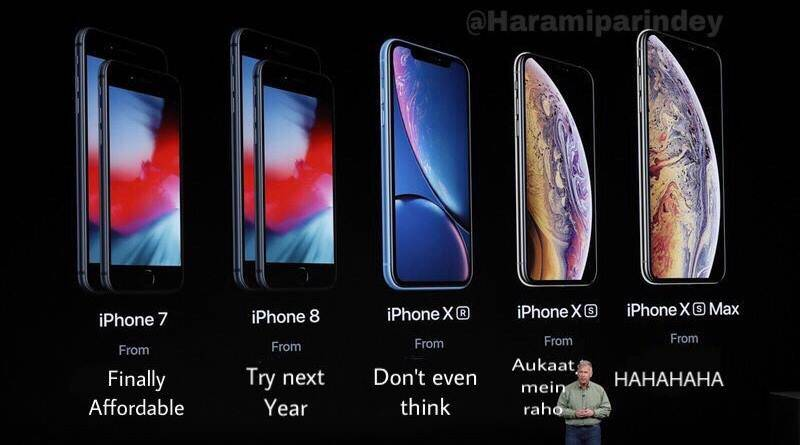 Apple Iphone Xs Xr Xs Max Launched These Desi Jokes Will Leave