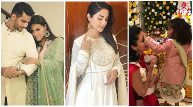 Have you seen these photos of Neha Dhupia, Hina Khan and Sunny Leone?