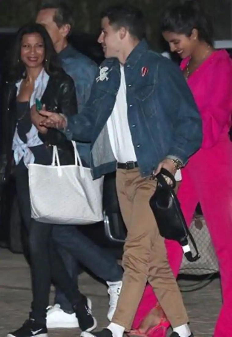 Priyanka Chopra Fun night with fiance Nick Jonas Inside photos