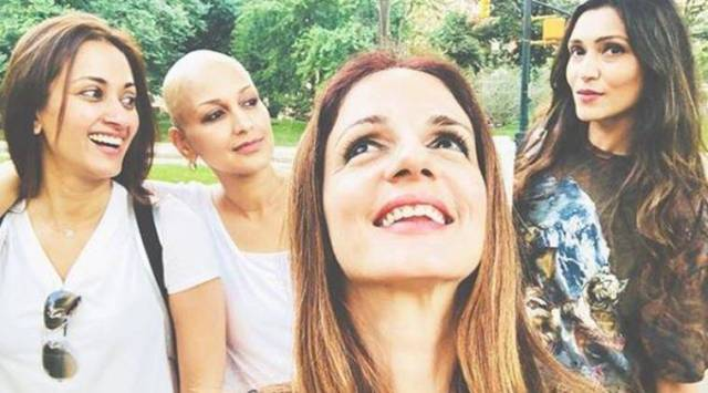 Sussanne Khan shares new photo from her visit to Sonali Bendre