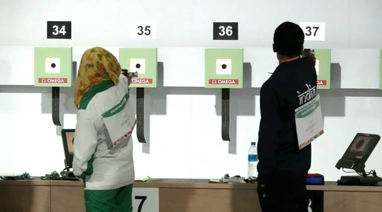 A rare India-Pakistan pairing at the Youth Olympics event