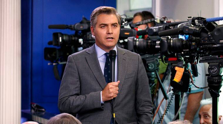 CNN's Jim Acosta calls for Trump to halt media attacks