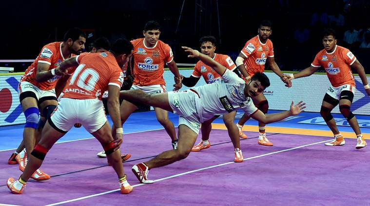 Pro Kabaddi 2018 Highlights: Haryana Steelers beat Gujarat Fortunegiants, Dabang Delhi win against Puneri Paltan