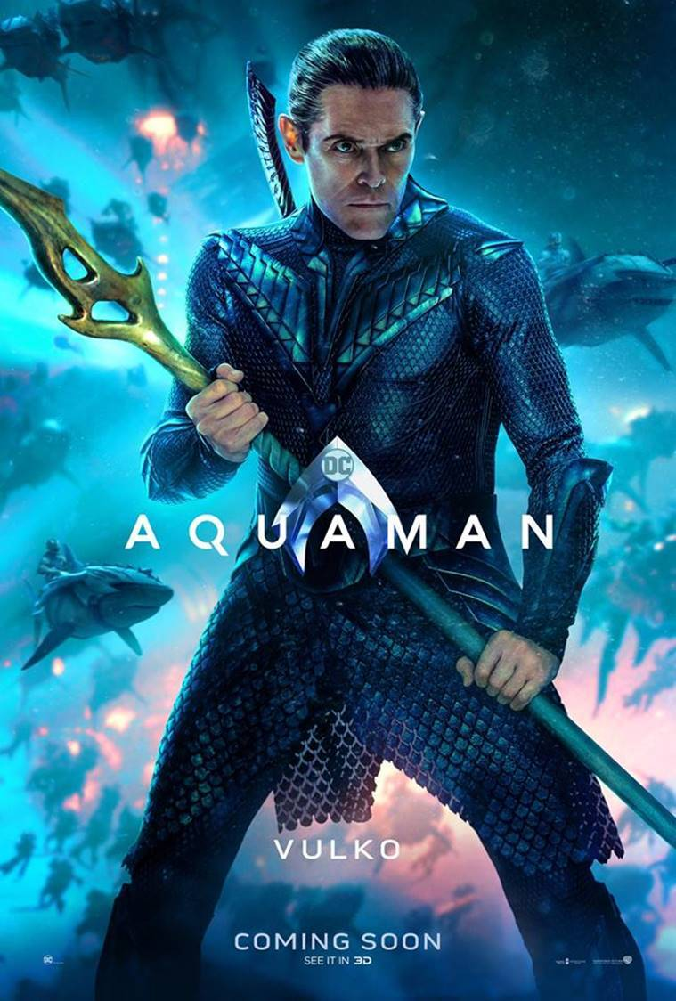 willem dafoe in aquaman