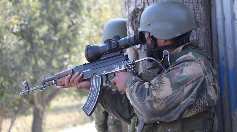 J&K: Encounter breaks out between security forces, militants in Pulwama