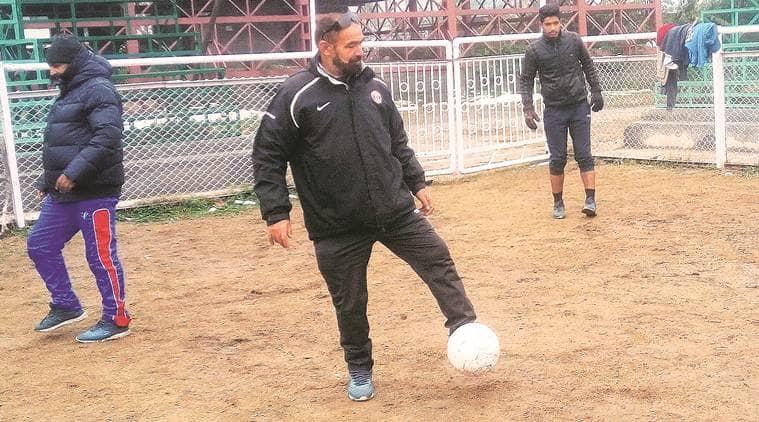 kashmir football, kashmir football team, Abdul Majeed Kakroo, Abdul Majeed Kakroo football, I-League, real kashmir, real kashmir football team, footbal team kashmir, football news, sports news