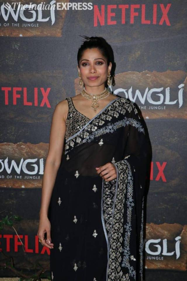 frieda pinto mowgli world premiere