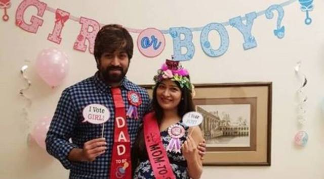 Kannada actors Yash and Radhika welcome a baby girl