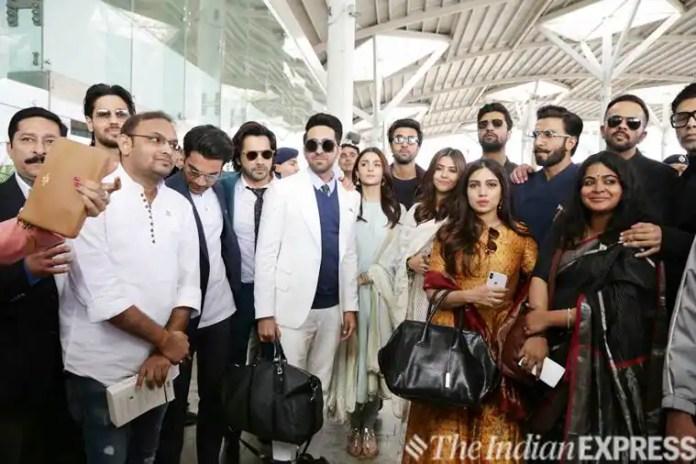 bollywood stars meet pm narendra modi in delhi
