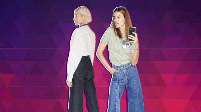 Asymmetric Jeans, bizarre fashion trends,