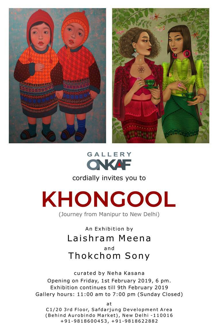 Khongool of Manipur: Two artists canvas their journey from homeland to Delhi