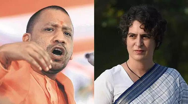 adityanath priyanka gandhi - Priyanka Gandhi writes to Adityanath again on 'worsening' law and order situation in UP