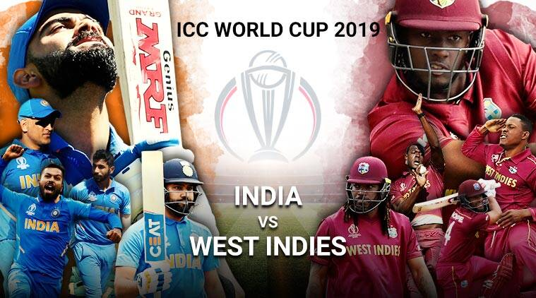 India vs West Indies Live Cricket Score, World Cup 2019 Live Match