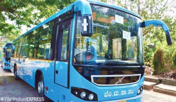 Image result for volvo bus bangalore
