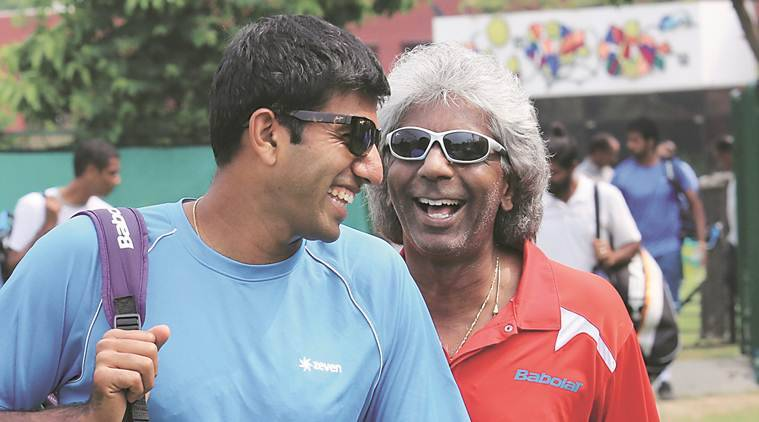 anand amritraj, anand amritraj tennis, tennis player anand amritraj, davis cup, davis cup finals, all india tennis association, AITA, international tennis federation, ITF, sports news, Indian Express