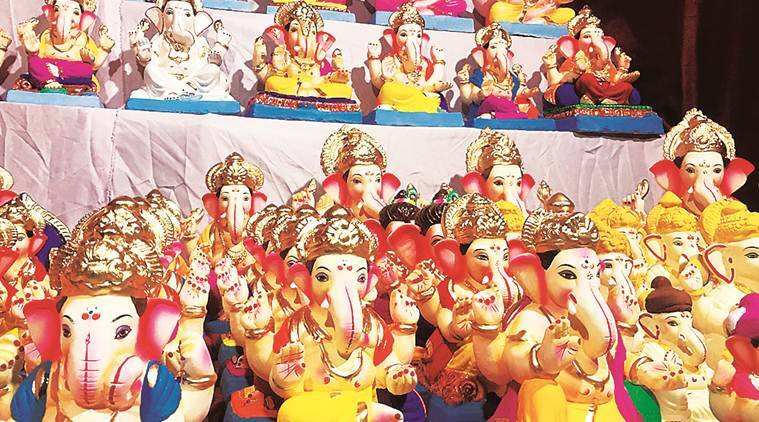 How Green Is Your Ganpati Lifestyle News The Indian Express