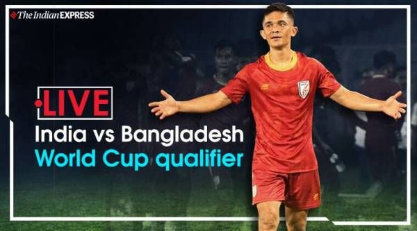India vs Bangladesh Live Score, FIFA World Cup 2022 Qualifiers Live Streaming: India look to keep World Cup hopes alive