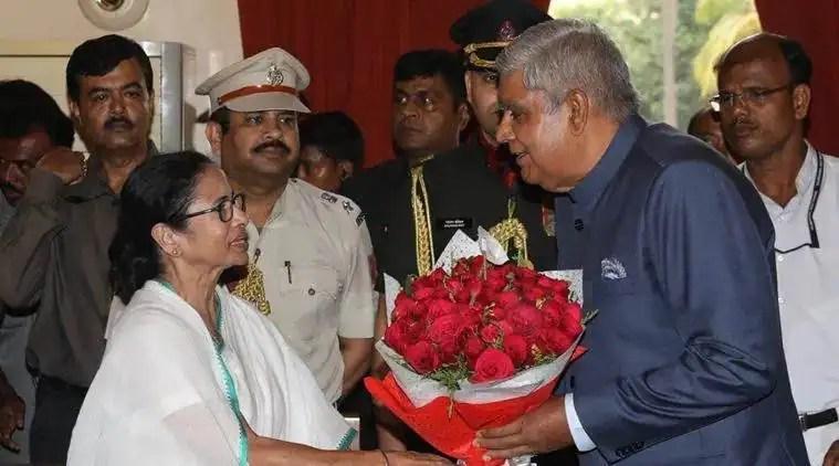 kolkata city news, mamata governor fight, Jagdeep Dhankhar, mamata Jagdeep Dhankhar fight