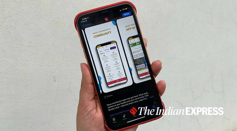 Delhi election, Delhi assembly election, Delhi election 2020, Delhi election February 8, Simply local app, Simply local app election app, Simply local app app store, Simply local app play store