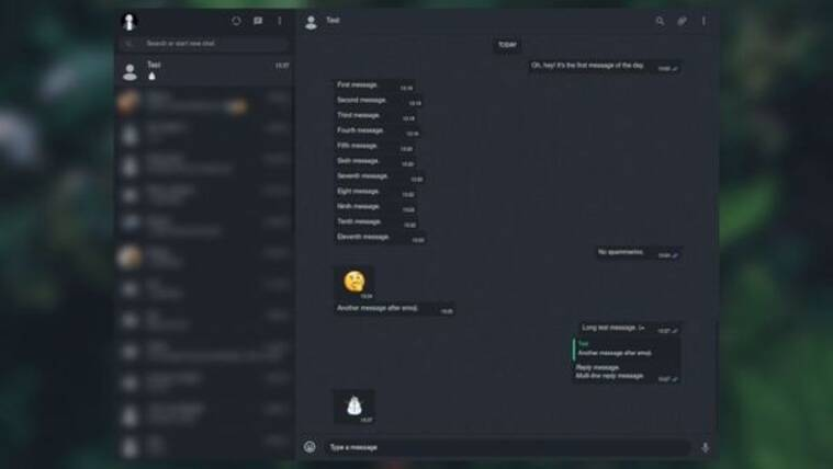 WhatsApp Dark mode for web. Here's how to enable the theme
