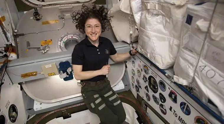 NASA, Christina Koch, Record-setting astronaut, science news, tech news, technological news, indian express