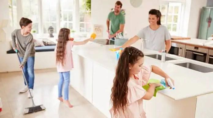 Chores to burn calories