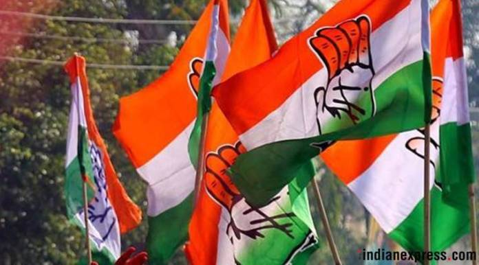 Youth Congress members ride bullock cart to protest against fuel price hike