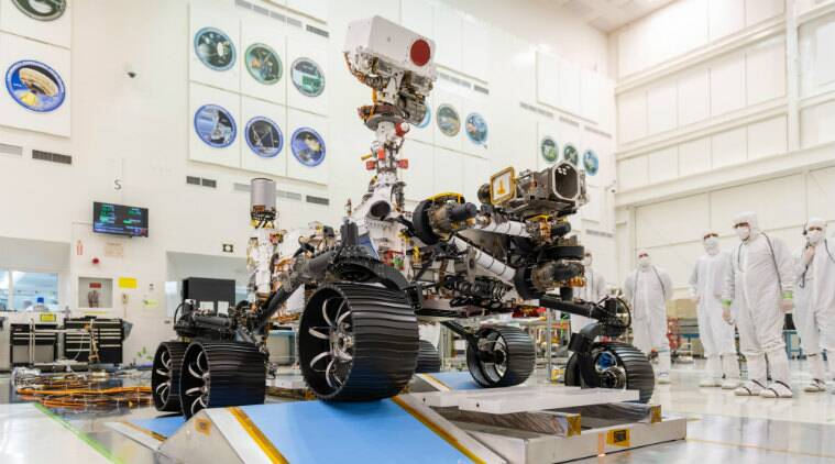 mars 2020 rover, mars 2020 rover reaches kennedy space centre, mars 2020 jet propulsion laboratory, mars 2020 rover launch, mars 2020 rover july launch